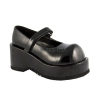 DOLLY-01 Black Patent, Size 7